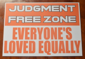 judgment free zone